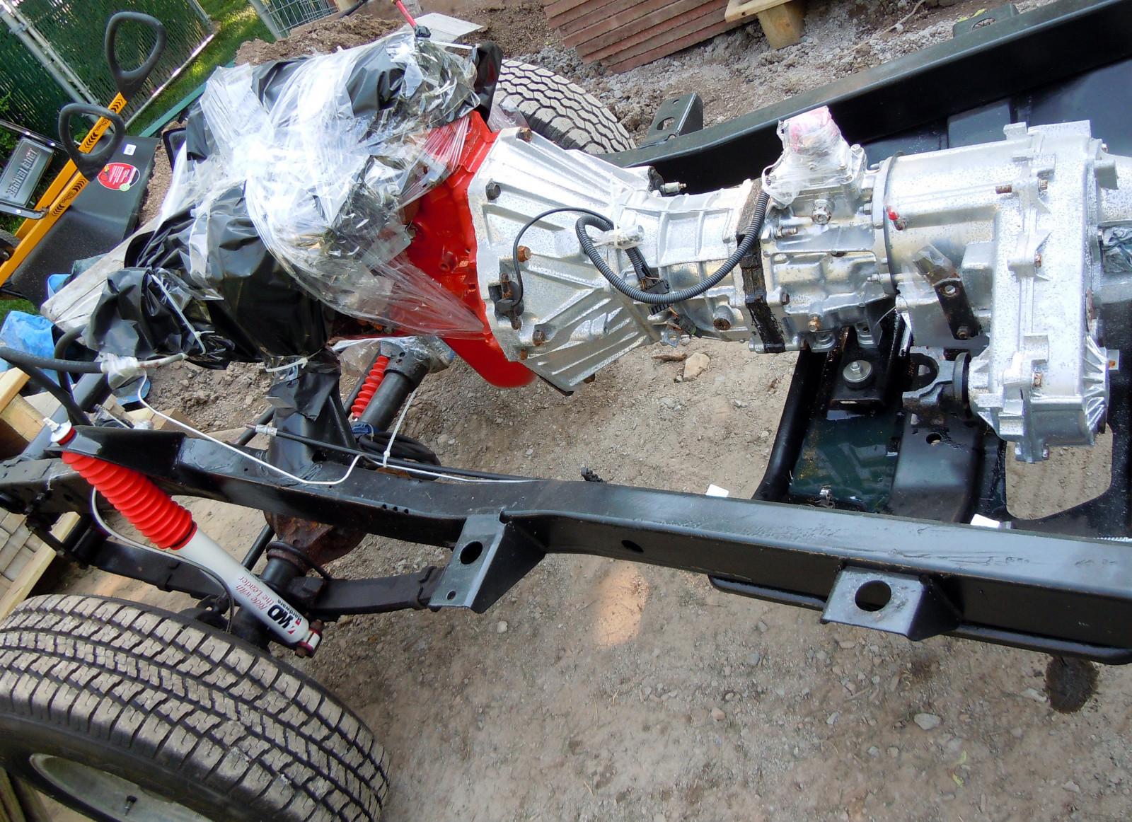 Position Motorhalter am Rahmen bei 4.0
