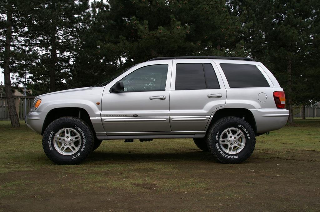 4,5cm 1,75 Zoll Fahrwerk Spacer Jeep Grand Cherokee ZJ ZG Höherlegung Lift Kit